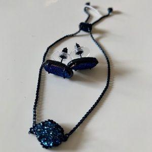 Kendra Scott Gunmetal metallic Bracelet